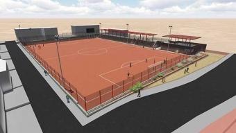 Estudiantes y Vecinos del Sector Los Arenales se Verán Beneficiados con la Construcción de Nuevo Complejo Deportivo