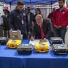 Integrantes del Sistema Regional de Protección Civil Reciben Equipos de Telefonía Satelital