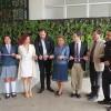 Innovador Sistema de Jardín Vertical fue Instalado en el Liceo La Chimba