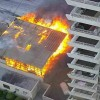 Ocho Compañías de Bomberos, Controlaron Gran Incendio en Sector Centro Norte de Antofagasta