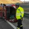 Bomberos Rescató a Conductora que Quedó Atrapada al Interior de su Vehículo Tras Violento Accidente de Tránsito