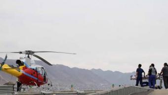 Exitoso Primer Traslado en Helicóptero al Hospital Regional de Antofagasta
