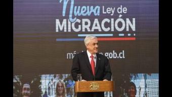 """Presidente Piñera Presenta Reforma Para """"Garantizar una Migración Segura, Ordenada y Regular"""""""