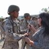 Más de 500 Soldado Conscriptos Participaron en la Ceremonia de Entrega de Armas