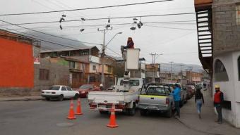 Municipio Inicia Operativo de Retiro de Zapatillas Del Alumbrado Público