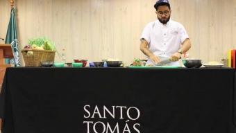 Chef Santiago Macías Realizó Clase Magistral en Universidad Santo Tomás Antofagasta