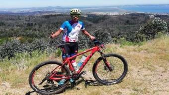 Joven Ciclista Calameño se Consagra Bicampeón Nacional de Mountainbike