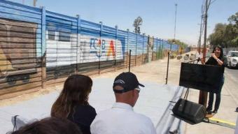 """Masiva Inauguración Tuvo Mural """"130 Años FCAB"""" en Calama"""