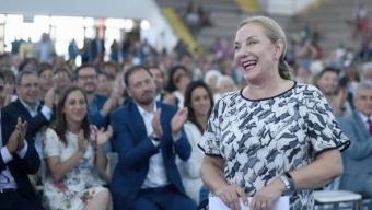 """Cecilia Morel en la """"Fiesta de la Familia"""" en Antofagasta:  """"Este Año Tendremos un Nuevo Centro Diurno Para Adultos Mayores"""""""