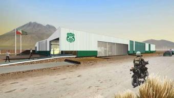 MOP Construirá Nueva Tenencia de Carabineros en Ollagüe