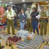 Desbaratan Clandestino en Barbería de Antofagasta: Había Más de 410 Botellas de Alcohol Disponible Para Clientes