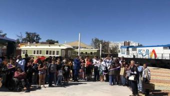 Paseo Estación Calama y Tren Aniversario:  El Regalo de Cumpleaños Que FCAB Entregó a la Ciudad