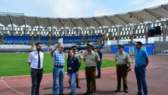 Refuerzan Medidas de Seguridad Para el Partido Entre CDA y U. De Chile