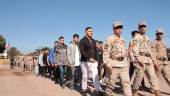 364 Jóvenes Ingresaron a Cumplir Con su Servicio Militar