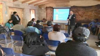 MOP Presentó Solución de Aguas Lluvias a Vecinos de la Localidad de Caspana
