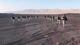 """En el Día de la Infantería, Patrulla de la Brigada Motorizada N° 1 """"Calama"""" Realizó Marcha de 220 km Hasta Antofagasta"""