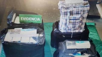 Incautan 1.420 Cajetillas de Cigarros a Comerciante Ambulante de Antofagasta