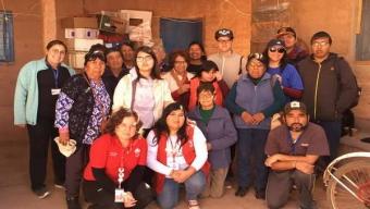 Teletón Visita Ayllu de Solcor en San Pedro de Atacama