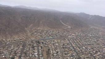 Gobernadora Visitó la Vª Brigada Aérea Para Ver Las Primeras Imágenes Del Levantamiento Cartográfico de Antofagasta