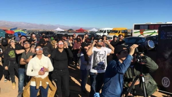 Exitoso Viaje UCN a la Totalidad Del Eclipse Solar