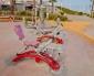 Municipalidad Instala Máquinas de Ejercicios en Playa Trocadero