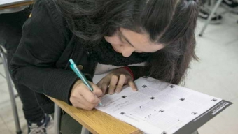 Cerca de 400 Jóvenes Participaron Del Ensayo PSU Vespertino