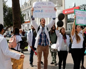 Colegio Médico Antofagasta Llamó al Ministro Mañalich a Resolver el Conflicto
