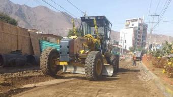 Aguas Antofagasta Comenzó Con Las Obras de Pavimentación en Avenida Argentina