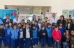 Con 400 Corazones Estudiantes Confeccionan Tres Murales Inclusivos Para Niños Del Hospital Regional