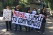 Médicos Generales de Zona de Calama se Manifestaron en el Centro de la Ciudad