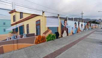 Sector Estación de Antofagasta Tiene el Mural Más Grande de la Región
