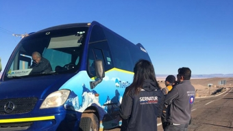 Sernatur, Carabineros y Servicios Públicos Realizan Operativo Simultáneo en Antofagasta y San Pedro de Atacama