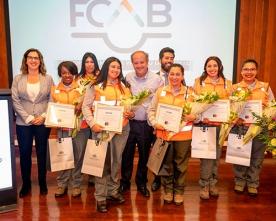 FCAB Reconoce a Las Primeras Mujeres Operadoras Ferroviarias