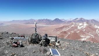 Instalan Estación Meteorológica en Cráter Del Volcán Lascar