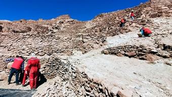Ministerio de las Culturas Inicia Obras Para Proteger el Pucará de Quitor