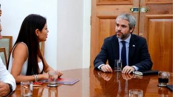 Alcaldesa Rojo Expone Grave Situación de Seguridad en Antofagasta a Ministro Del Interior