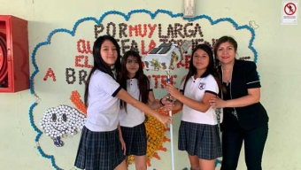 Escolares de María Elena Diseñaron Robot Que Limpia Paneles Solares