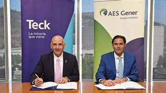 Teck y AES Gener Anuncian Acuerdo de Energía Renovable