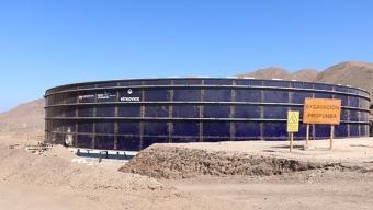 Nuevo Estanque de Almacenamiento Robustecerá el Suministro de Agua Potable en Antofagasta