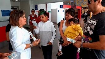 En Aeropuerto de Antofagasta Seremi de Salud Explica Características Del Coronavirus
