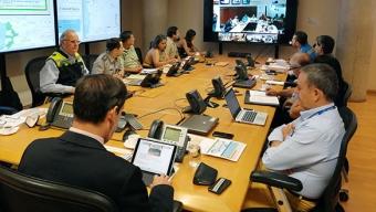 Coordinan Cursos de Acción Ante Pronósticos de Precipitaciones y Tormentas Eléctricas