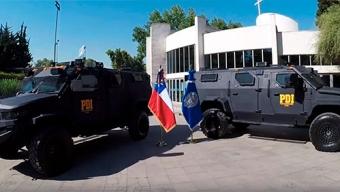 PDI Antofagasta Adquirirá Dos Carros Blindados Para Equipo Dedicado al Combate Del Crimen Organizado y Narcotráfico