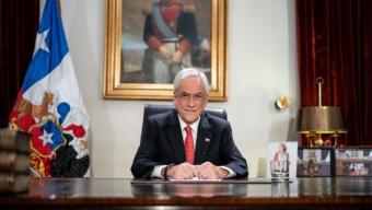 """Presidente Piñera Realiza Cadena Nacional Por Coronavirus: """"Estamos Muy Conscientes de Los Temores y Angustias Que Sienten Las Familias Chilenas"""""""