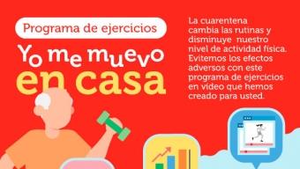 Universidad de Chile Abre Clases Online Gratuitas Para Que Adultos Mayores Ejerciten Durante Cuarentena Del COVID-19