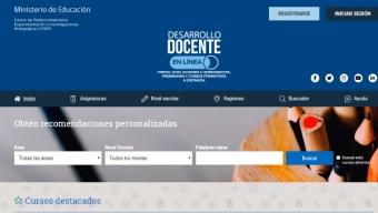MINEDUC Lanza Nueva Oferta Formativa Para Apoyar a la Comunidad Docente en el Contexto de Emergencia Sanitaria