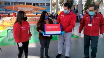 MINEDUC Entrega Más de 2.800 Computadores a Alumnos de Antofagasta