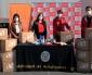 Fundación Luksic y Mall Plaza Entregan a Municipio Cajas Con Alimentos