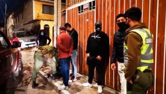 20 Jóvenes Detenidos Por Infringir la Cuarentena y Consumir Alcohol y Drogas en la Vía Pública