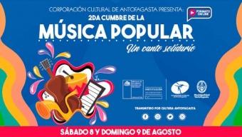 II Cumbre de la Música Popular Marcará un Hito Con Dos Días de Presentaciones de Artistas Online
