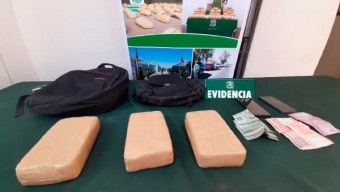 Carabineros Concreta Operativos Simultáneos Contra la Droga en Calama